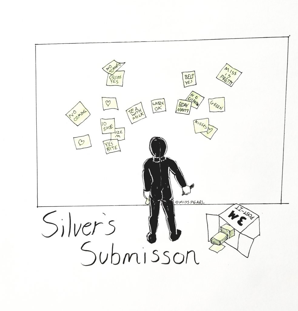 Silver's submission is very particular.